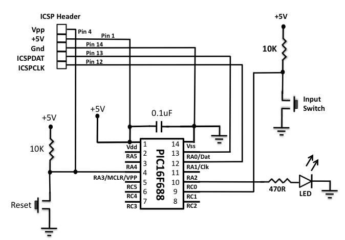 Circuit_BasicIO_PIC16F688