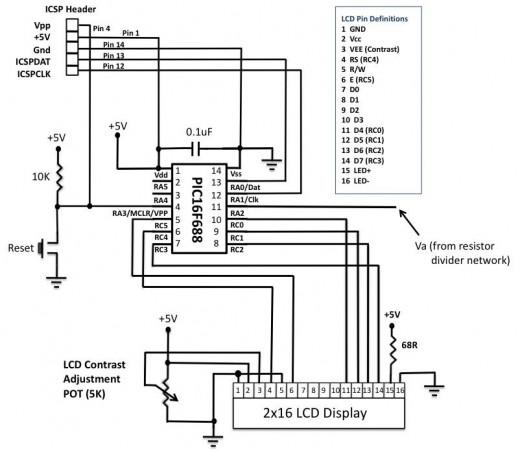PIC-based Digital Voltmeter (DVM) - Embedded Lab