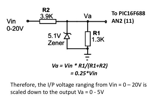pic based digital voltmeter dvm embedded lab rh embedded lab com Volt Meter Cable Volt Meter Display