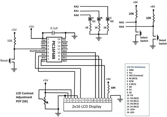 microcontroller based diode and bipolar junction