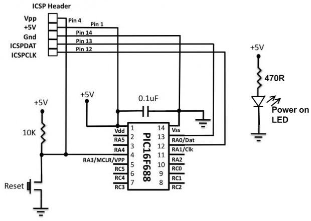 Circuit_PIC16F688_Breadboard