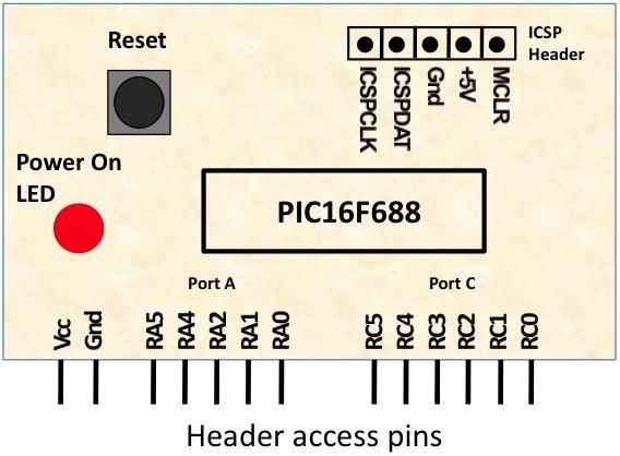 PIC16F688Module