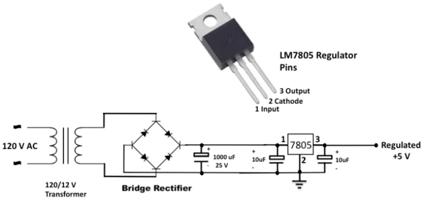 Regulated Power Supply For Embedded Systems Embedded Lab