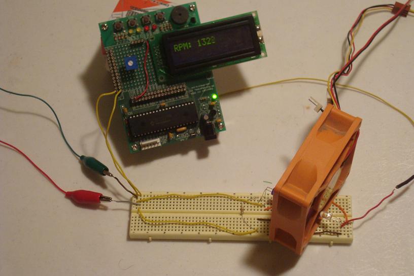 A contact less digital tachometer based on optical sensors setup solutioingenieria Gallery