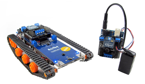 Voice controlled robotic vehicle - Embedded Lab