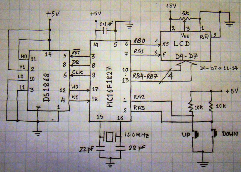 How to interface MAXIM\'s DS1868 digital potentiometer with a PIC ...