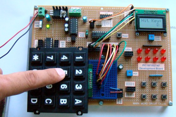 Lab 18: Matrix keypad interfacing - Embedded Lab