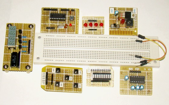 Diy plug in modules to make microcontroller breadboarding easier plug in modules for easy microcontroller breadboarding solutioingenieria Gallery