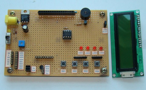a diy i o board for experimenters embedded lab rh embedded lab com  Transistor On Circuit Board