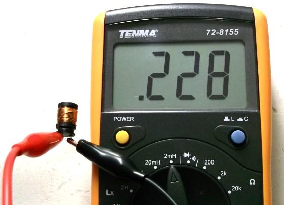 Inductor Coil Meter : Tenma digital lcr meter embedded lab