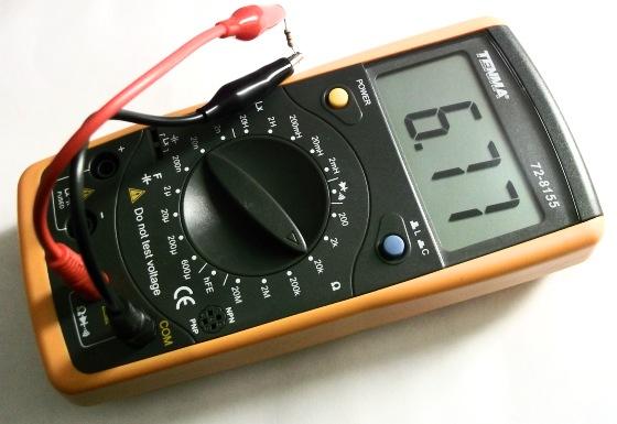TENMA 72-8155 digital LCR meter