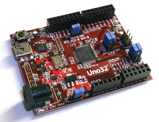 Exploring chipKIT Uno32 board