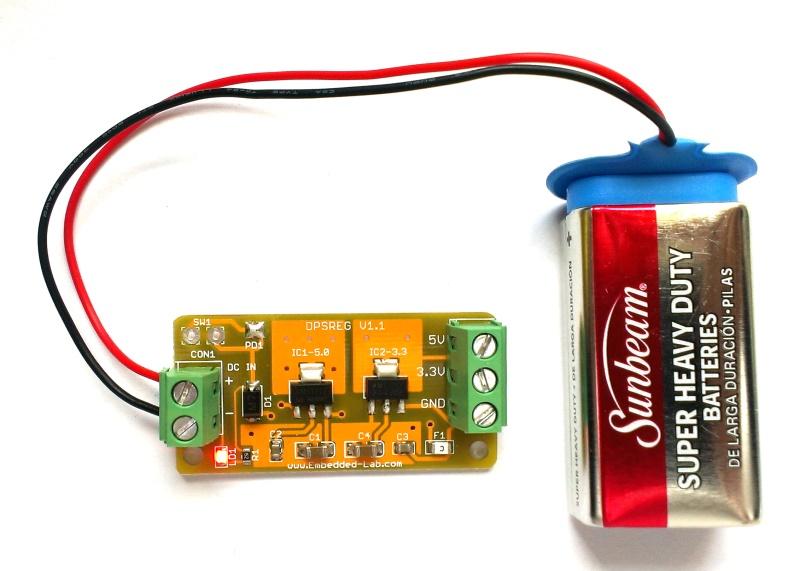 Multi Purpose Dual Power Supply 5 0v And 3 3v Regulator