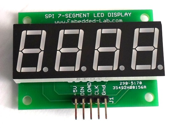 More MAX7219 Based Serial Seven Segment LED Displays Are