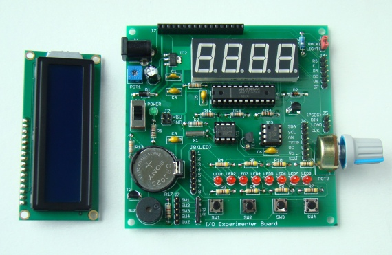 I/O Experimenter Board (PCB version) - Embedded Lab