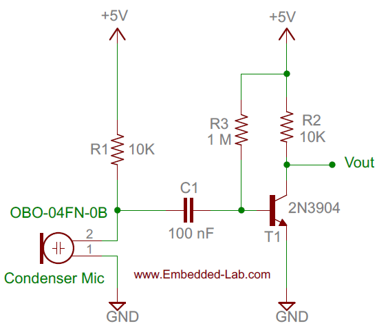 Circuit Diagram Of Clap Switch | Making A Simple Clap Switch Embedded Lab
