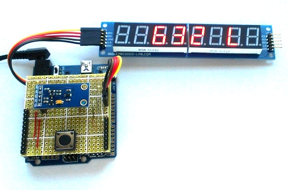 Building a simple digital light meter using arduino and