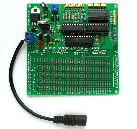 HV seven Segment LED driver