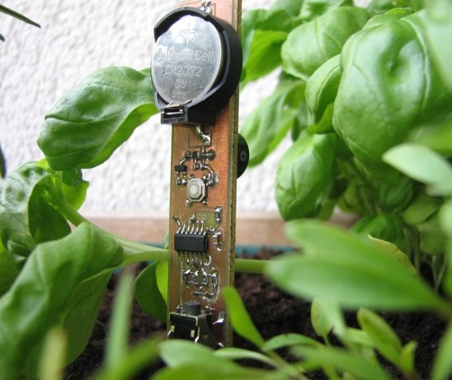 Chirp: Plant watering alarm