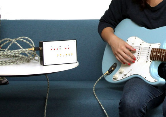 Build an electric guitar tuner using arduino embedded lab