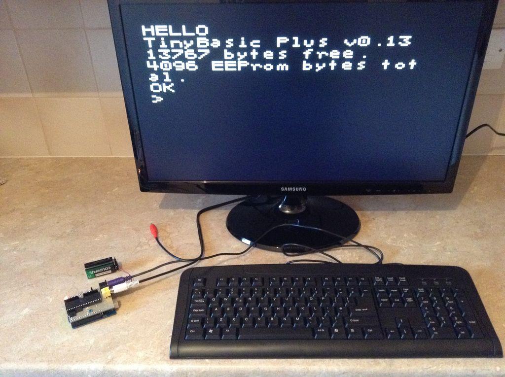 Arduino uno computer that runs basic embedded lab