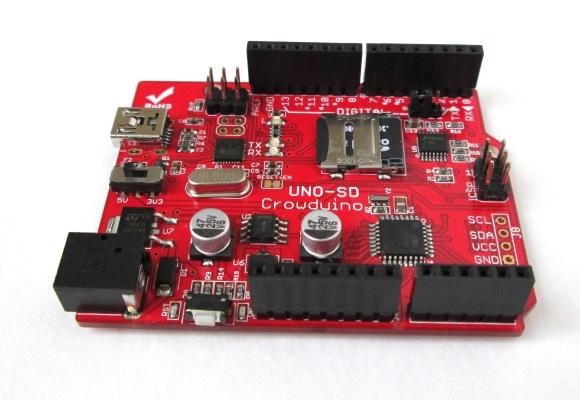 Crowduino Uno SD board