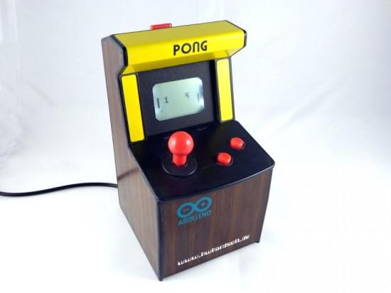 Mini pong arcade using arduino embedded lab