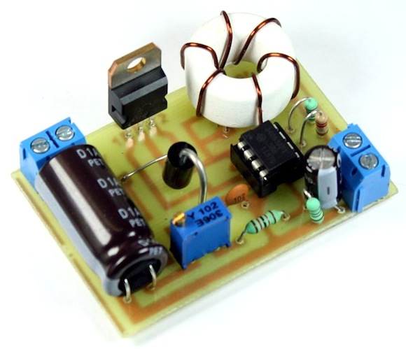 Circuito Ups 12v : Dc booster for your v load embedded lab