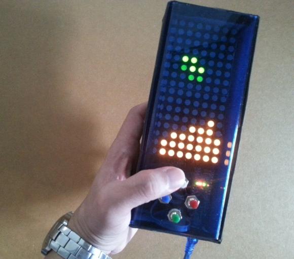 Arduino Tetris game