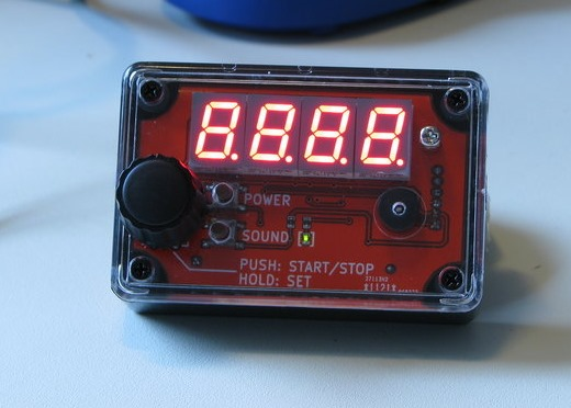 Seven segment LED timer
