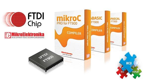 MikroElektronika develops compilers for FTDI new MCUs