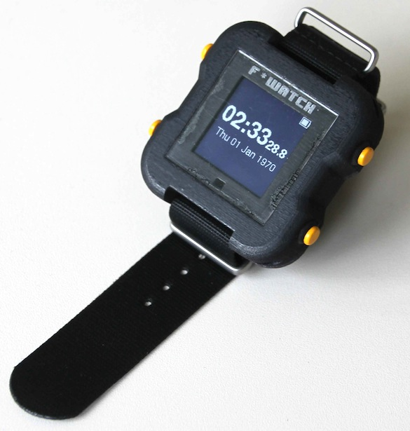 F*watch: Open-source wrist watch