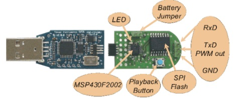Audio solution with MSP430