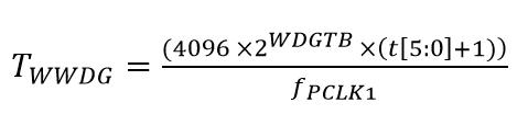 WWDG Formula