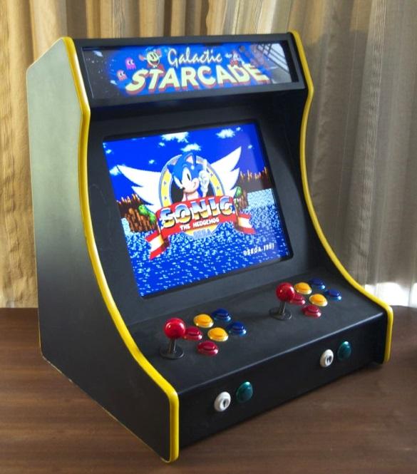 Raspberry Pi Powered Dual Player Arcade
