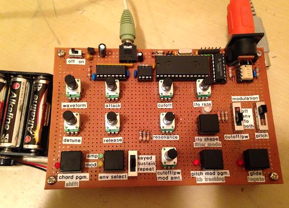 ARM-powered midi synthesizer