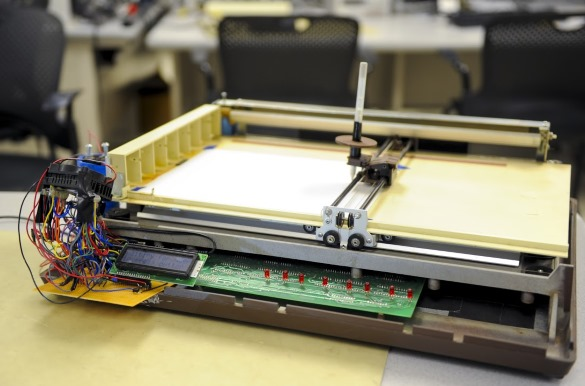 Circuit printer machine