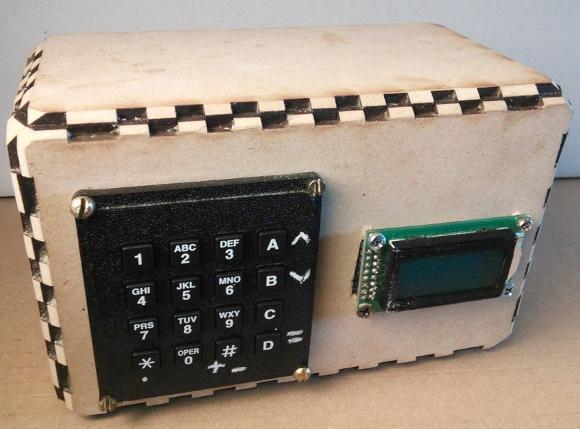 Arduini-powered calculator