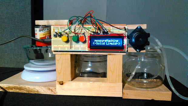 Arduino Powered Liquid Powder Dispenser System Embedded Lab