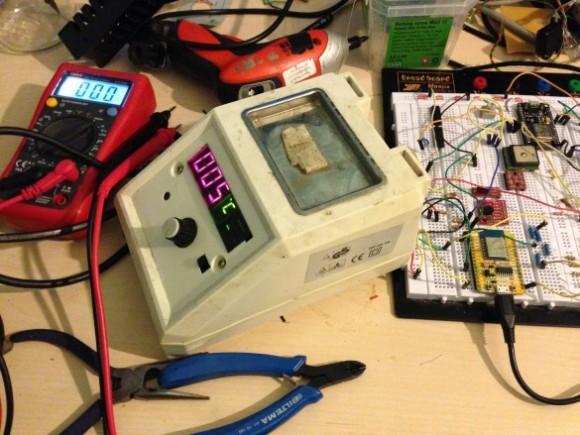 IoT enabled soldering station