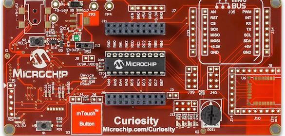 Curiosity development board from Microchip