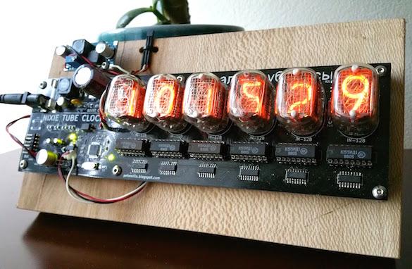 Atmega328 driven DIY Nixie clock - Embedded Lab