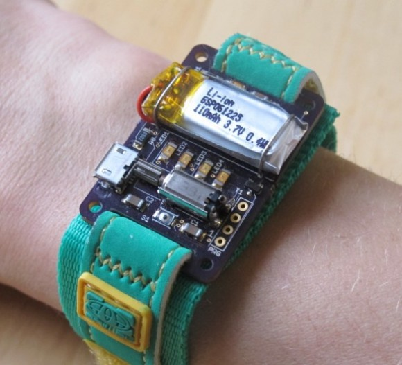 Energy wristband monitors energy usage at home