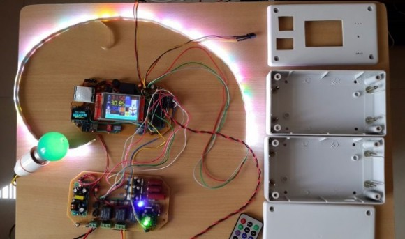 IoT enabled smart AC wall