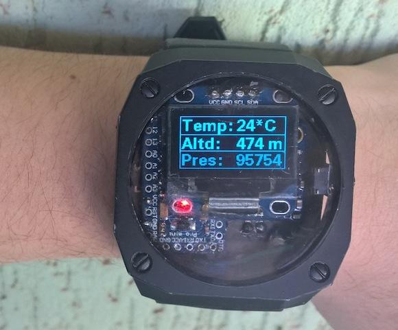 Diy arduino pedometer wristwatch embedded lab