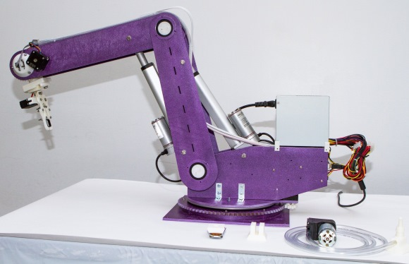 Arduino controlled low cost robotic arm embedded lab
