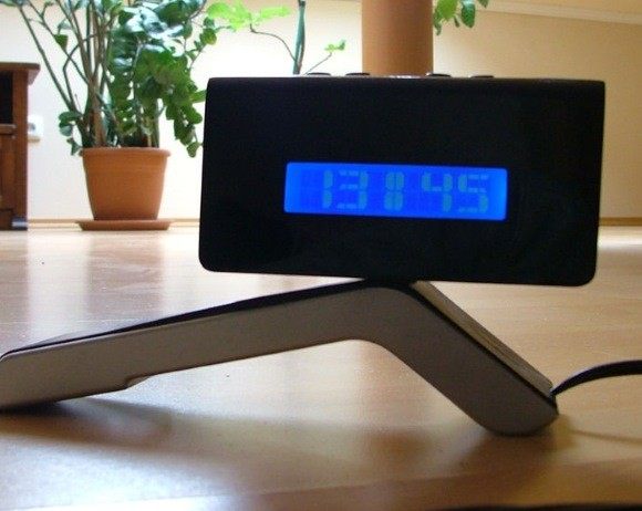 AVR clock with temperature and humidity meter