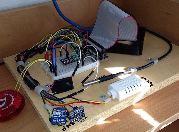 Raspberry Pi powered mini weather station