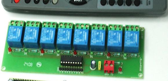 16 Channel IR remote control