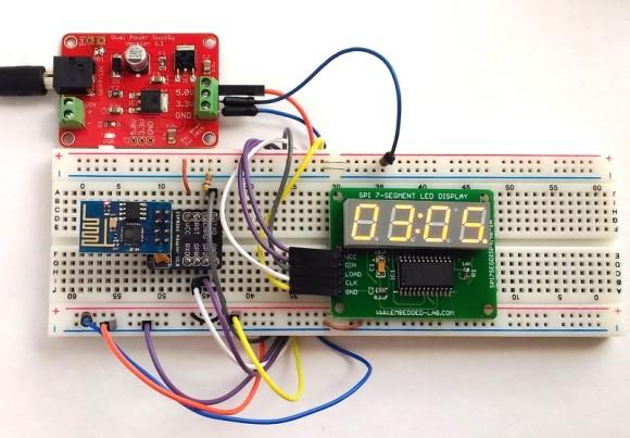 ESP8266 WiFi clock
